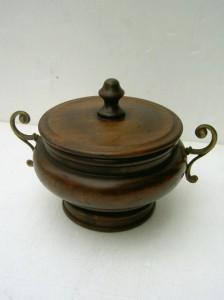 現品処分イタリア製 樫の木古材飾器